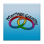 Marriage Equality Tile Coaster