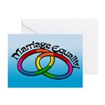 Marriage Equality Greeting Cards (Pk of 10)