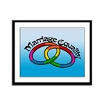 Marriage Equality Framed Panel Print