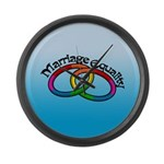 Marriage Equality Large Wall Clock