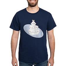2 Brides Wedding Cake T-Shirt