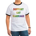 Support Gay Marriage Ringer T
