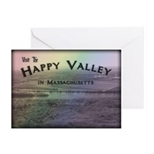 Happy Valley Massachusetts Greeting Cards (Pk of 1