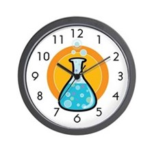 Science Beaker Wall Clock