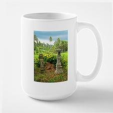 Balinese Rice Field Shrines Large Mug