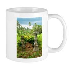 Balinese Rice Field Shrines Mug