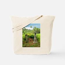 Balinese Rice Field Shrines Tote Bag