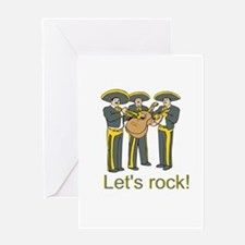Let's Rock! Greeting Card