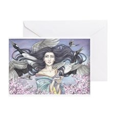 Blessed Cranes Greeting Cards (Pk of 10)