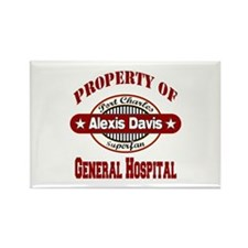 Property of Alexis Davis Rectangle Magnet