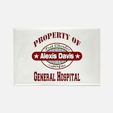 Property of Alexis Davis Rectangle Magnet