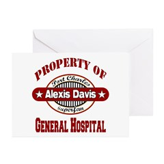 Property of Alexis Davis Greeting Cards (Pk of 10)