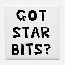 Got Star Bits Tile Coaster