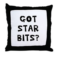 Got Star Bits Throw Pillow