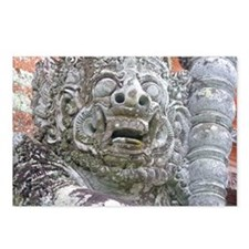 Balinese Temple Guardian Postcards (Package of 8)