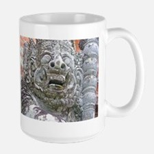 Balinese Temple Guardian Large Mug
