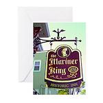 The Mariner King Inn sign Greeting Cards (Pk of 20