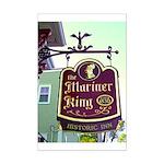 The Mariner King Inn sign Mini Poster Print