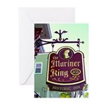 The Mariner King Inn sign Greeting Cards (Pk of 10