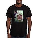 The Mariner King Inn sign Men's Fitted T-Shirt (da
