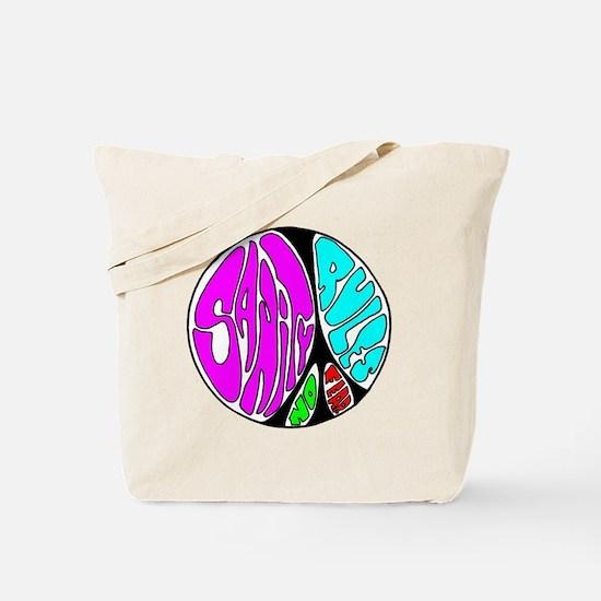Peace Sanity Rally Tote Bag