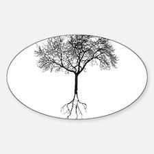 Unique Artistic Sticker (Oval)