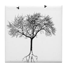 Cute Tree Tile Coaster