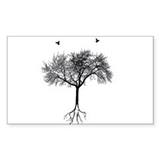 Tree and birds Decal