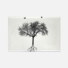 Funny Tree Rectangle Magnet (100 pack)