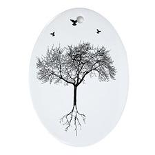 Cute Growth Ornament (Oval)