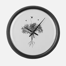 Unique Artistic Large Wall Clock