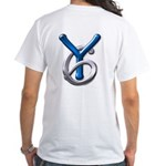 Young Six Flatline Records White T-Shirt