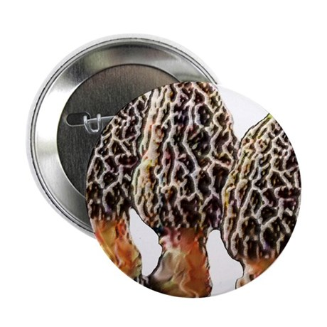 "Morel Dreams 2.25"" Button (100 pack)"