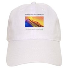 One Person Miracle Baseball Cap