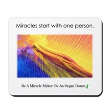 One Person Miracle Mousepad