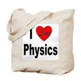 Geeky physic Totes & Shopping Bags