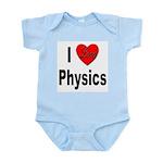 I Love Physics Infant Creeper