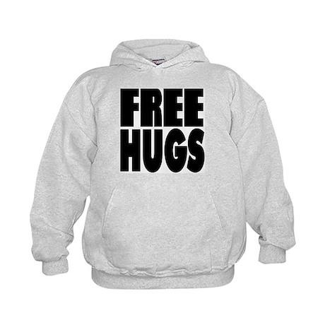 Free Hugs Kids Hoodie
