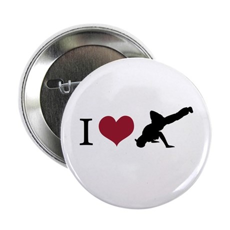"I Love Breakdance 2.25"" Button (10 pack)"