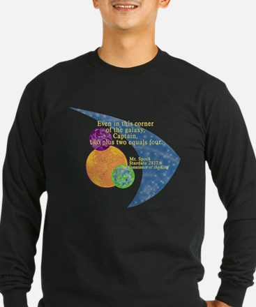 Spock Math Quote T