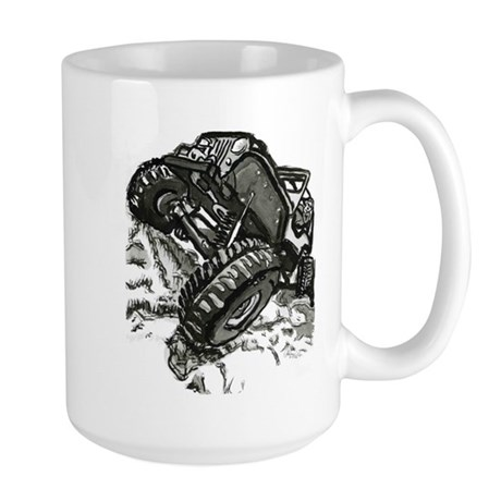 rock crawler Large Mug
