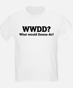 What would Donna do? Kids T-Shirt