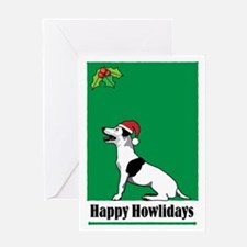 Jack Russell Holiday Greeting Card