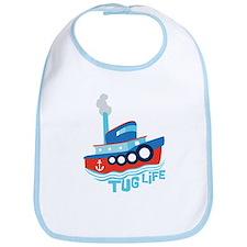 Tug Life Tugboat Bib
