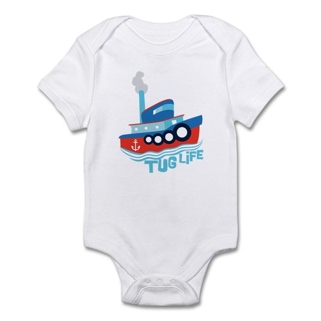 Tug Life Tugboat Infant Bodysuit Cafepress Com