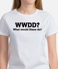What would Diane do? Tee