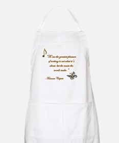 Music of Words BBQ Apron