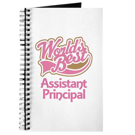 Worlds Best Assistant Principal Journal