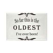 Cute 50 birthday Rectangle Magnet (10 pack)