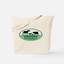 Amanda Animal Hospital Tote Bag